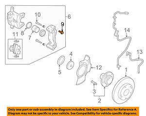image is loading kia-oem-04-09-spectra-brake-front-caliper-