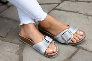 Birkenstock sandals Birkenstock Metallic Madrid Sandals