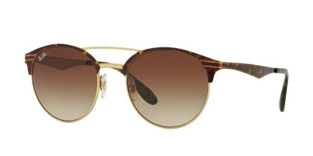 24533448ddb Ray-Ban RB3545 900813 54mm Gold Top Havana Frame Brown Gradient Lens  Sunglasses