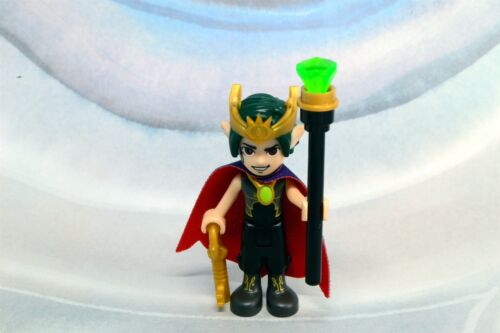 Lego Mini Figure Elves Goblin King with Amulet from Set 41188