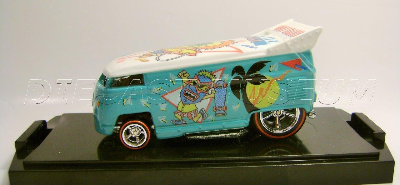 2016 VOLKSWAGEN VW DRAG BUS OFF THE WALL 1980 80S NIGHT STALKER HOT WHEELS 13 20