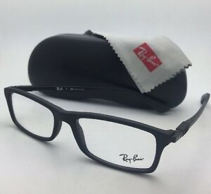 cd31031edec New RAY-BAN Rx-able Eyeglasses RB 7017 5196 54-17 Matte Black ...