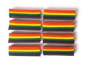 Craft ** 8 x Rainbow Crayons ** Children/'s Art
