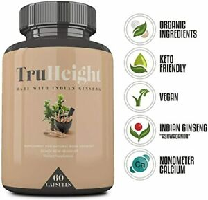 TruHeight-Supplement-4-Natural-Bone-Growth-w-Indian-Ginseng-60-Capsules-Exp-4-22