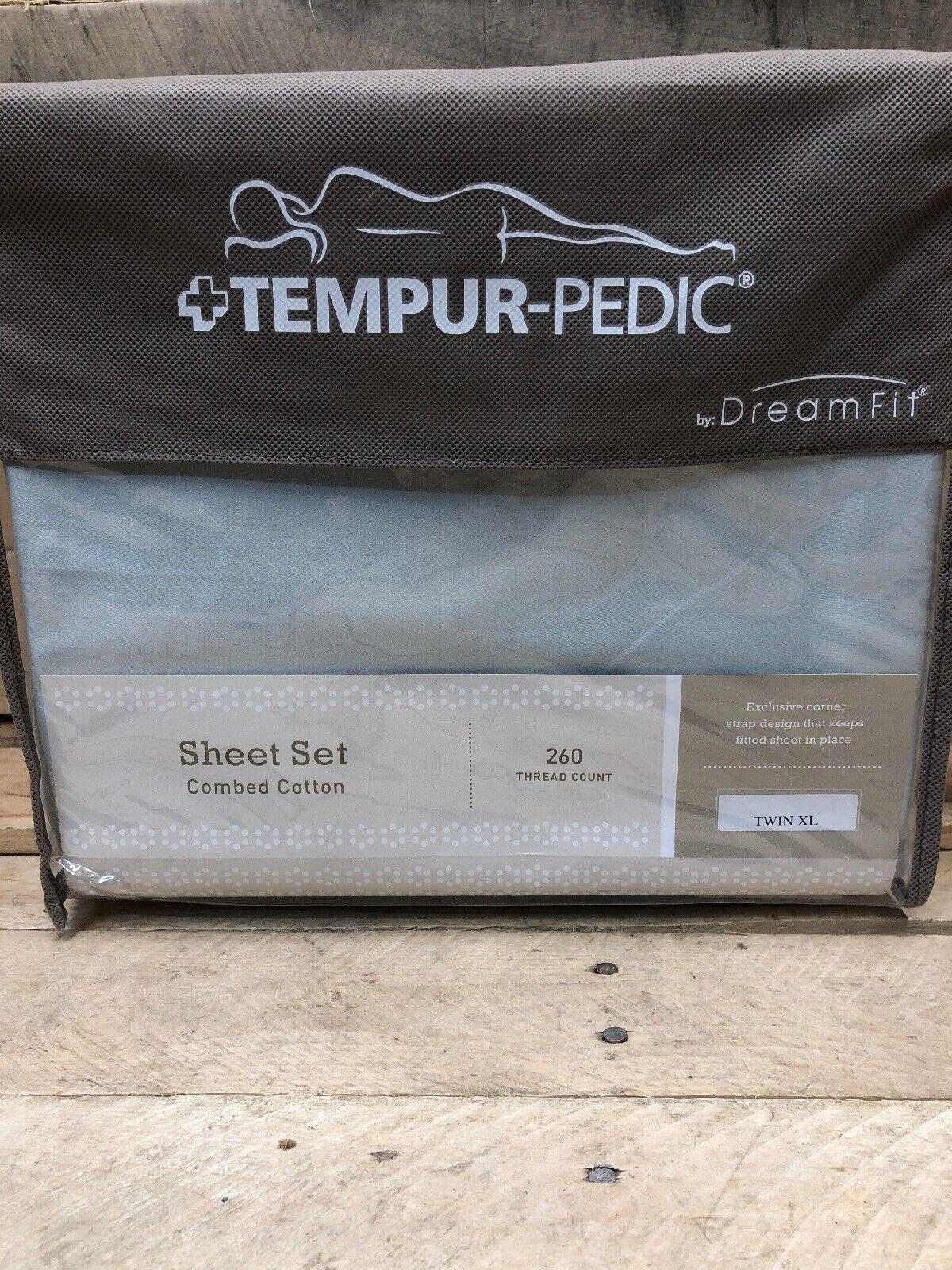 Tempur-Pedic Dream Pale Grün Twin XL 260Tc Combed Cotton Sheets (ped 68)
