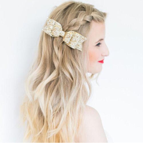 Accessories Women Fashion Girls Hair Clip Bow Hairpin Big Bowknot Barrette
