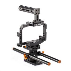 Travailleur Stabilisateur Vidéo Cage Pour Sony A7ii/a7rii/a7sii/objectif Interchangeable Caméra Avec E-mount - 7 M²/objectif Interchangeable Caméra Avec E-mount - 7rm2/objectif Interchangeable Caméra Avec E-mount - 7sm2 Hot-ii/ilce-7m2/ilce-7rm2/ilc