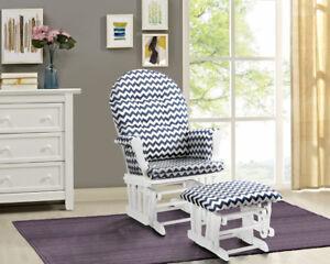 Awe Inspiring Details About Nursing Chair Glider Rocker Ottoman Baby Furniture Rocking Seat Breast Feeding Andrewgaddart Wooden Chair Designs For Living Room Andrewgaddartcom