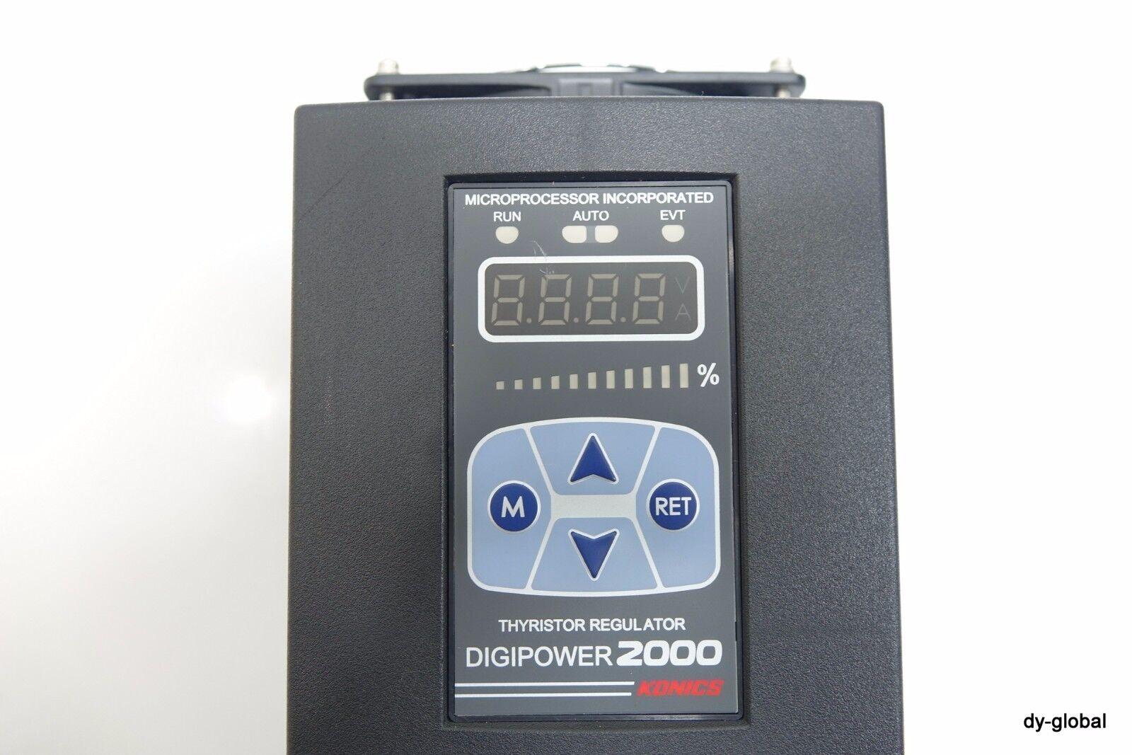 KONICS DPU-14B 440V 100A DIGIPOWER 2000 THYRISTOR REGULATOR ELEC-I-105@10