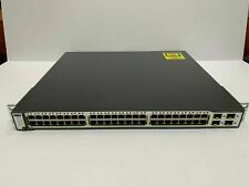 Cisco Catalyst (WSC3750G48TSS) 48 Port Rack Mountable Compact Switch
