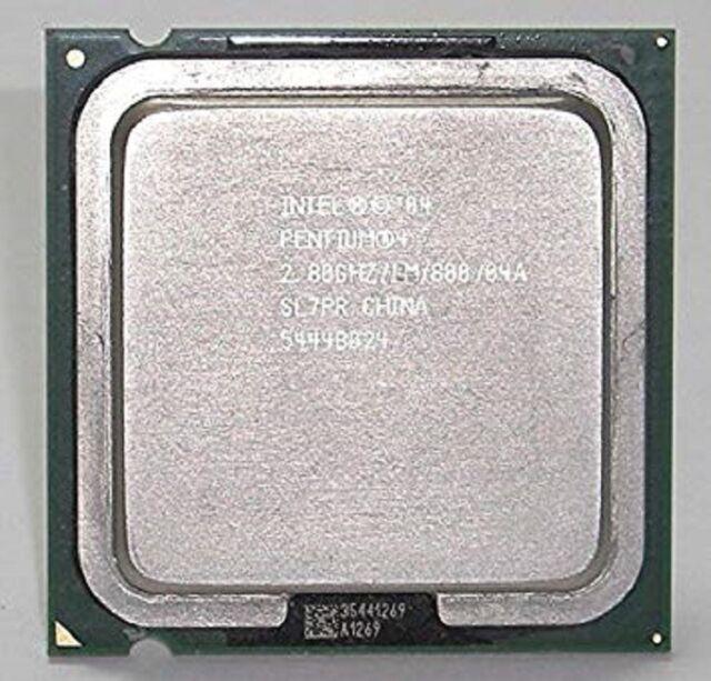 Intel Pentium P4 520 520J SL7PR SL7J5 CPU Processor 1M 2.8 GHz 800 Socket 775