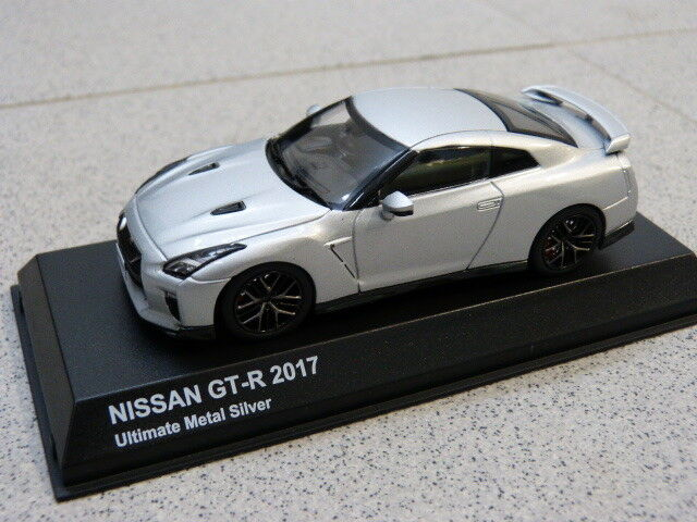 NISSAN GT R 2017 R35 Vibrant red originale Kyosho 1 43 Modellino Auto ks03893s