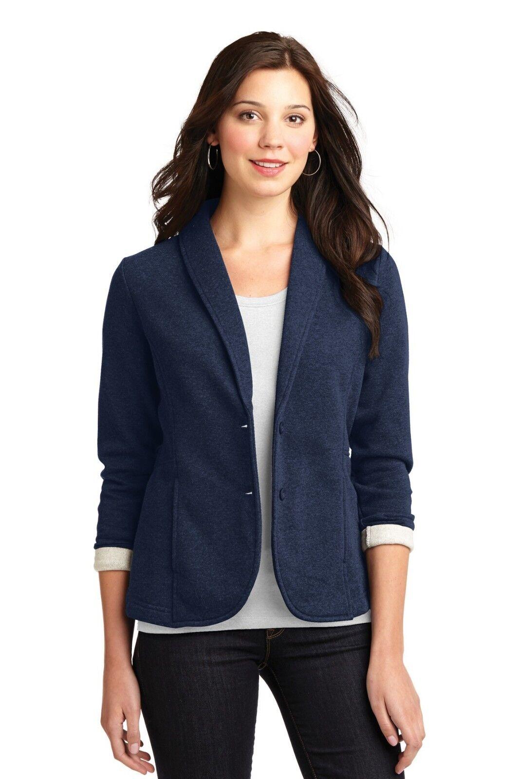 Port Authority Women's Fleece Blazer Sizes XS-4XL M-L298 M-L298 M-L298 2898ce