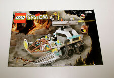 Lego Rock Raiders Chrome Crusher 4970