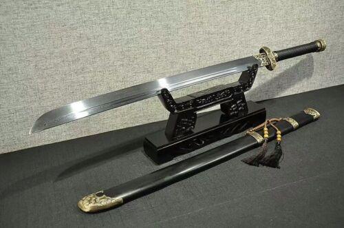 Top Grade Broadsword DaDao Sword Sharp Damascus Steel Blade Copper Fittings Full