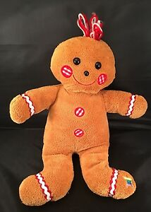 13 Noah S Ark Christmas Brown Gingerbread Man Stuffed Animal Plush