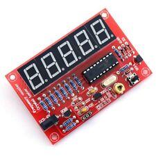 Diy Digital Led 1hz 50mhz Crystal Oscillator Frequency Counter Meter Tester Kit