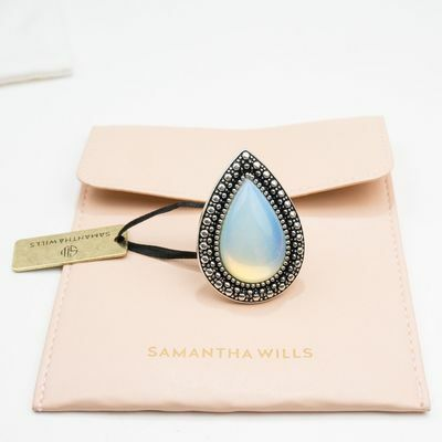Samantha Wills Bohemian Bardot Ring - MOON STONE