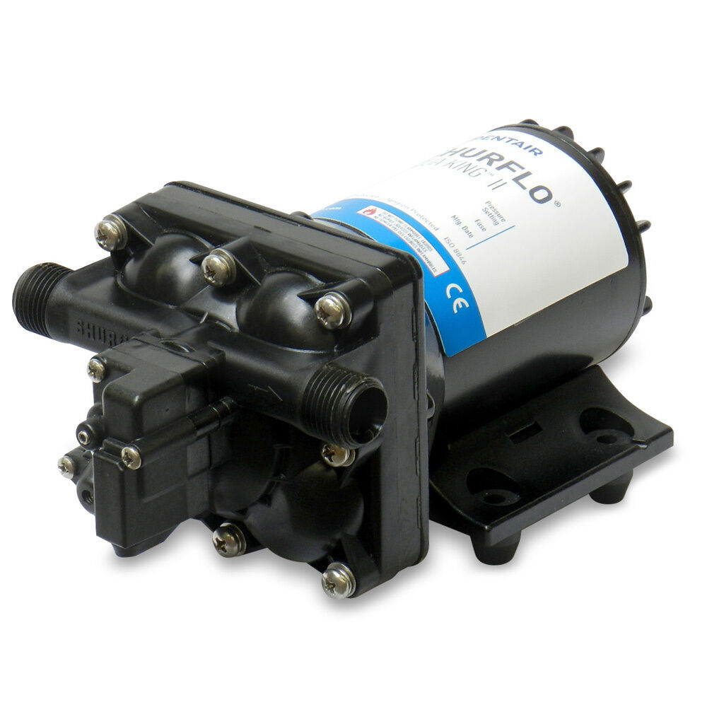 SHURFLO AQUA KING;  II Standard Fresh Water Pump - 12 VDC, 3.0 GPM  latest styles