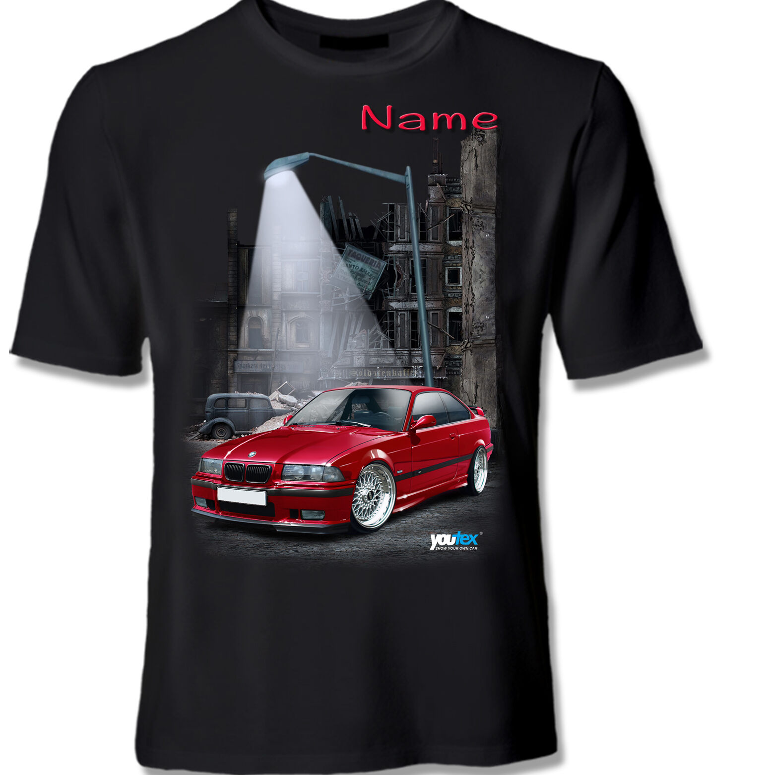BMW e36 m3 original youtex T SHIRT o o o cuscini 00bc2e