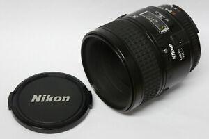 Nikon-AF-micro-Nikkor-2-8-60-mm-d-objetivamente-usado