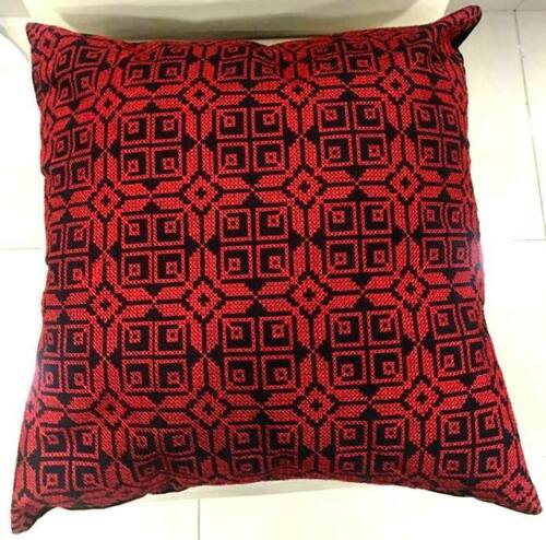 Embroidered cushion case Palestinian Home Decor Palestinian Heritage Size 40*40
