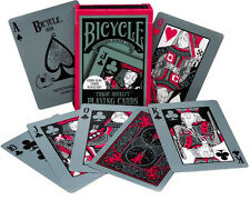 BICYCLE TRAGIC ROYALTY PLAYING CARDS POKER SIZE GLOW IN DARK UNDER BLACKLIGHT