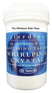 Whirlpool-Spa-Jacuzzi-Bath-Sanitiser-Tablets-30-Tabs-Bathrooms-Cleaner