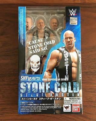 Bandai S.H.Figuarts Stone Cold Steve Austin Action Figure WWE Tamashii Nations