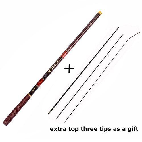 Goture Stream Fishing Rods 3.0m//3.6m//4.5m//5.4m//6.3m//7.2m Telescopic Fishing Rod