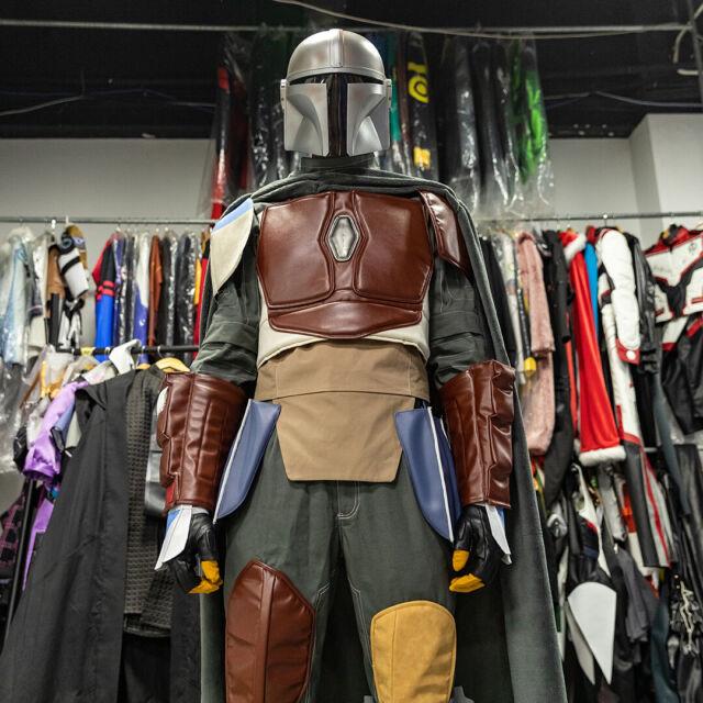 Star Wars Boba Fett Armor Mandalorian Costume Prop Cosplay