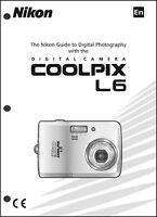 Nikon Coolpix L6 Digital Camera User Guide Instruction Manual