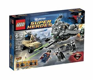 LEGO-DC-Super-Heroes-76003-Bataille-de-Smallville-NEUF