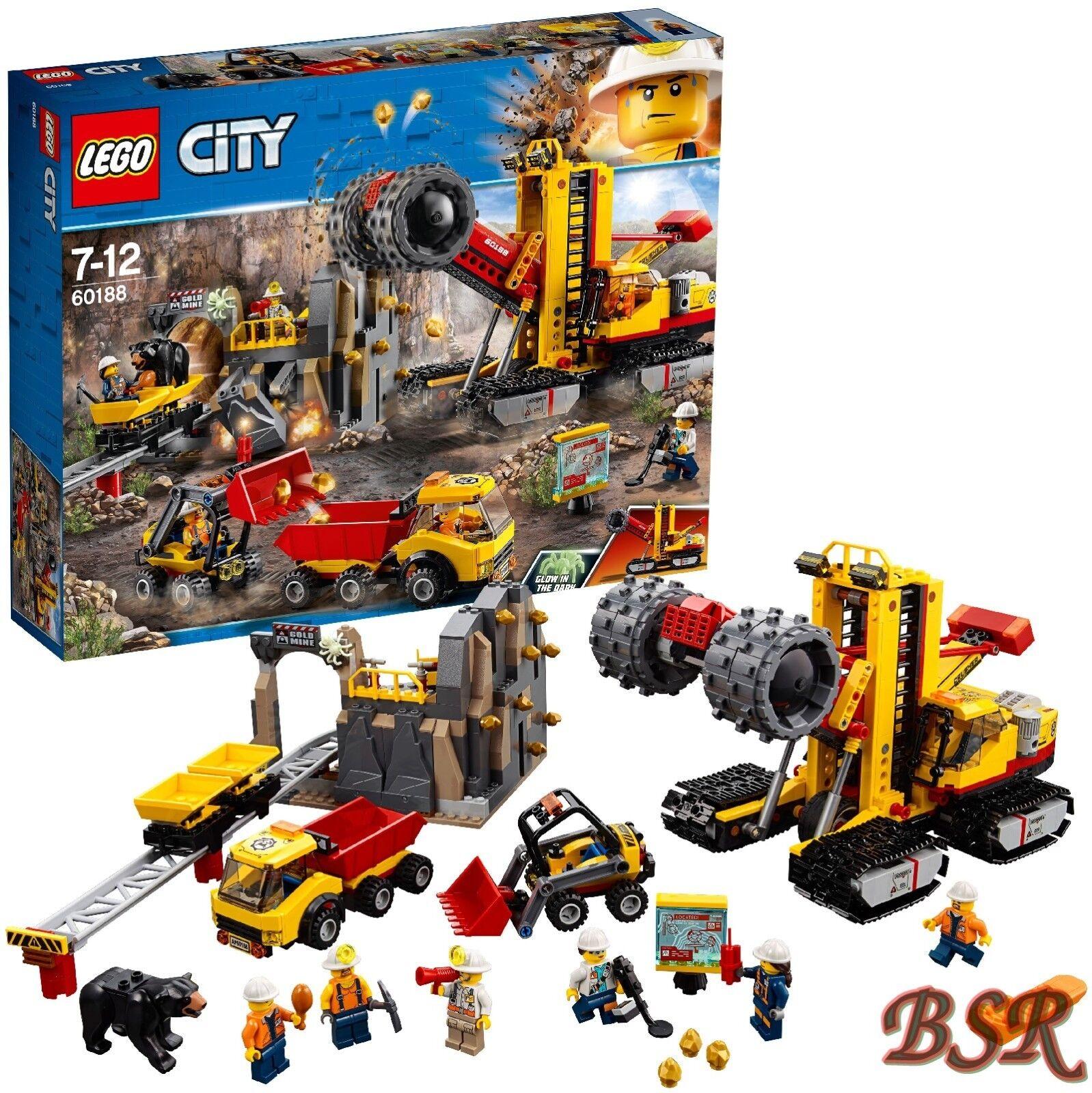 LEGO ® City  60188 Mines des professionnels à la réduction site & 0. - expédition & NOUVEAU & NEUF dans sa boîte