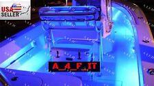 MULTI COLOR  4pc LED Kit For Boat Marine Deck Interior Lighting WIRELESS