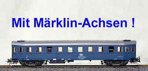 Fuer-Maerklin-MBT-Roco-H0-87-480-12-Wohn-Schlafwg-Hecht-blau-608099-28231-1