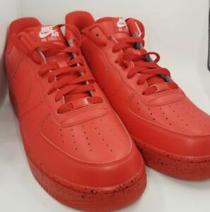 fcfdb52e281ace Image is loading NIKE-AIR-FORCE-1-LOW-ID-RED-SIZE-