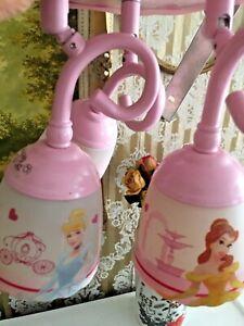 Details zu Lampe Deckenleuchte-Barbie -Kinderzimmer -Mädchen
