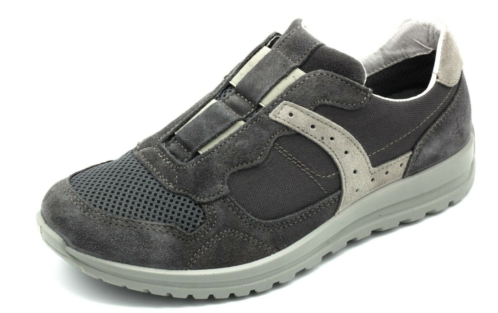 grisPORT zapatos hombres ANTISTATICA CASUAL TEMPO LIBERO PELLE NABUK gris n. 39
