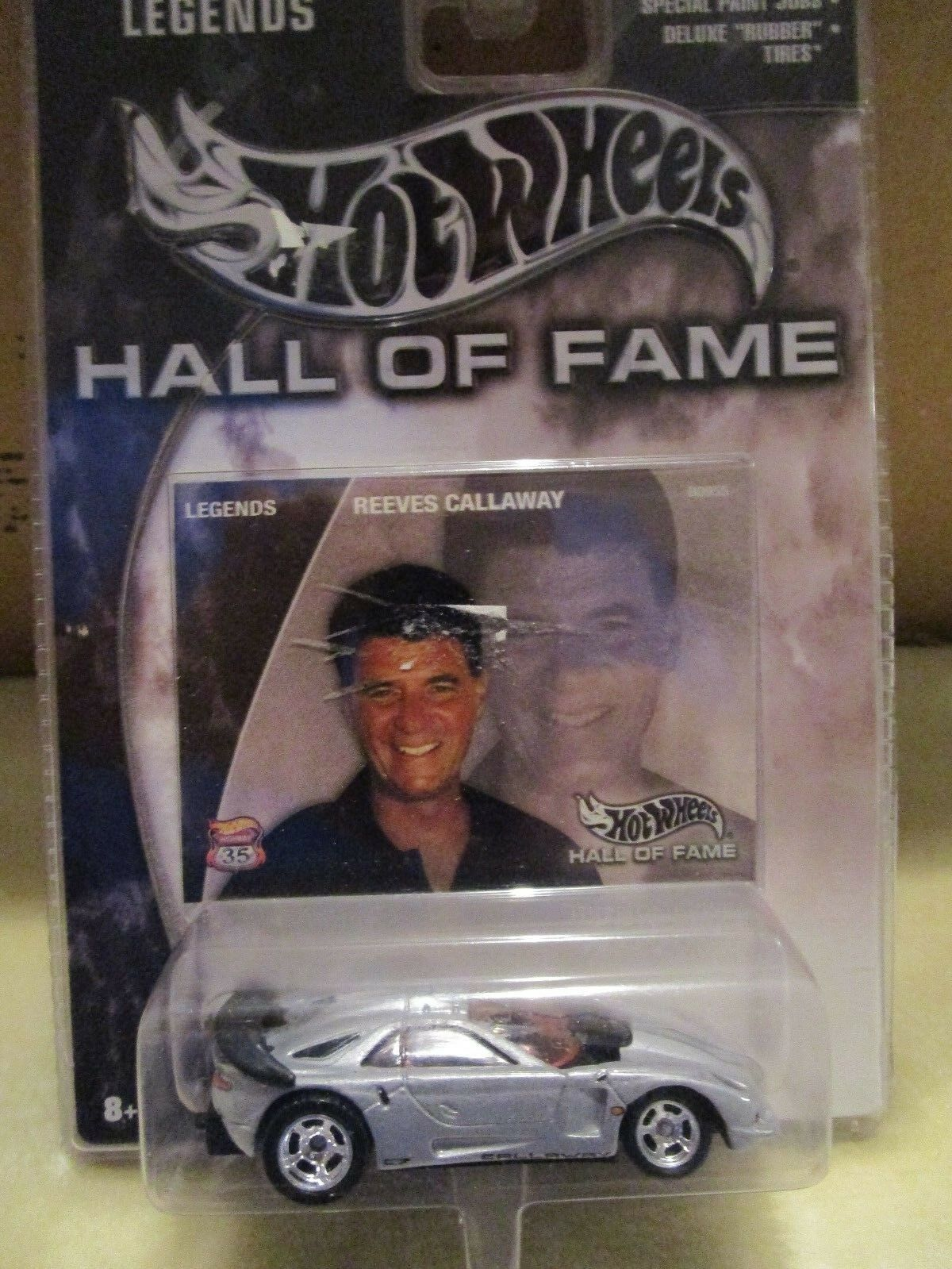 2002 LEGENDS HALL HOT WHEELS HALL LEGENDS OF FAME REEVES CALLAWAY 7162a9