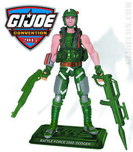 Gi Joe Con 2017 Dodger Force Of Battle 2000 Exclusif