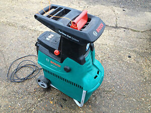 bosch axt 25 tc year quiet garden shredder chipper mulcher ebay. Black Bedroom Furniture Sets. Home Design Ideas