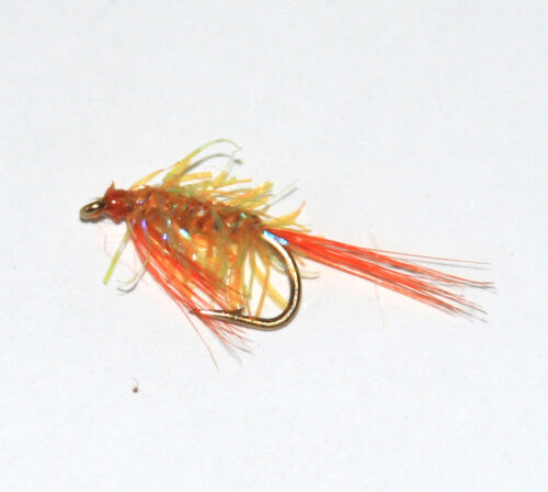 Diawl Bach UV Straggle Nymph Wet Trout Fly Fishing Flies size /& colour options