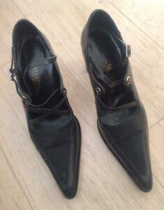 chaussures-de-femme-pointure-37-en-cuir-Etat-Neuf