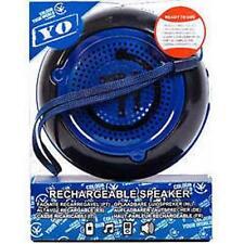 Yo Portable Rechargable Mp3 Player Speakers Black Blue