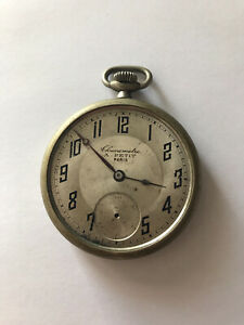 Montre Gousset Chronomètre A Petit Chronomètre
