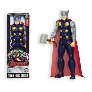 MARVEL-AVENGERS-THOR-Titan-Hero-Series-THOR-Action-Figure-12-pollici-HASBRO