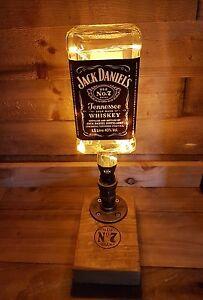 Image Is Loading Jack Daniels Bottle Lamp Steampunk 1 5 Litre