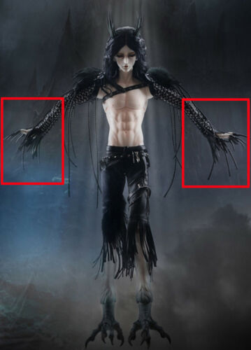 bjd sd extra long nais hands jointed hands evil zombie vampire fantasy hands