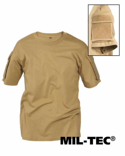 MIL-TEC TACTICAL T-shirt Coyote Basic T-Shirt